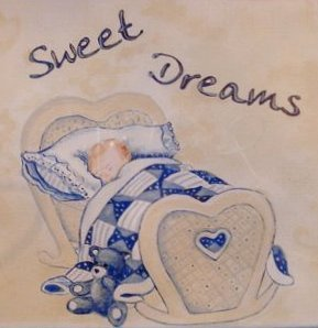 Sweet Dreams Nursery Wall Mural